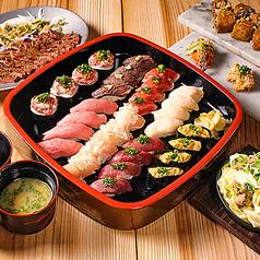 北千住 肉寿司のコース写真
