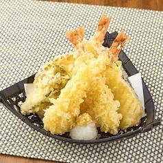 料理メニュー写真上海老の天ぷら盛り合わせ