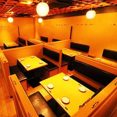 肉VS魚 個室居酒屋 肉浜 新橋店の雰囲気1