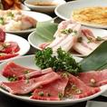国産の宮崎牛、希少な短角牛など、本当に美味しいお肉を楽しめます