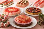 毎年冬から春にかけて開催「苺フェア」はムフタールの1番人気!