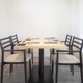 最大12名様もご対応可能なテーブル席