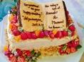 ウェディング用のケーキもご用意♪