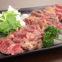 料理メニュー写真特選 牛ステーキ