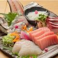 料理メニュー写真厳選 旬のお刺身5種盛り合わせ