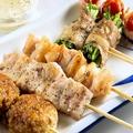 料理メニュー写真30種類を超える豊富な串焼き!