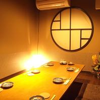 京町家の風情をいかしたお座敷。