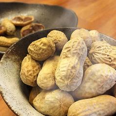 料理メニュー写真ゆでピーナッツ