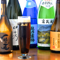 生ビールはアサヒ琥珀の時間を使用しています