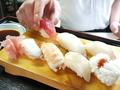 料理メニュー写真にぎり寿司(7貫)