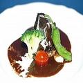 料理メニュー写真牛ほほ肉と牛タンのグランメール 赤ワイン風味