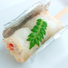 料理メニュー写真蟹の鱚巻