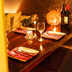 肉バルキッチン CHOTAROの落ち着いた大人の時間をゆっくり過ごせる空間に仕上ました