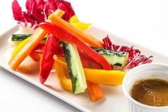 アンチョビ味噌&野菜スティック