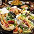 コスパ抜群!コース料理は飲み放題付で3500円~各種