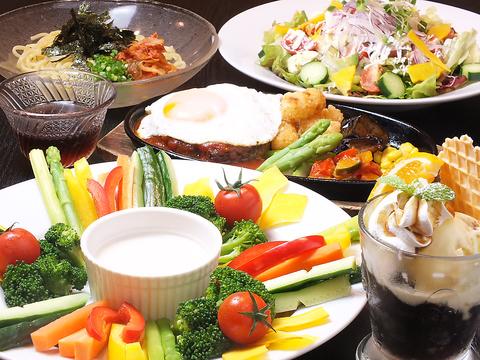 和食からイタリアンまで幅広い手作り料理を楽しめる♪宴会は最大60名まで可能♪