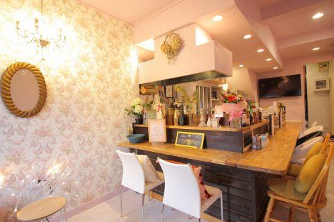 cafe rental makeup room charilu カフェ スイーツ の雰囲気