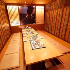 プライベートな空間でゆったりとお食事をお楽しみ頂けます◎大切な方とのお食事や家族でのご利用にどうぞ。