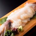 料理メニュー写真呼子のスルメイカを一本丸ごと楽しむ姿造り