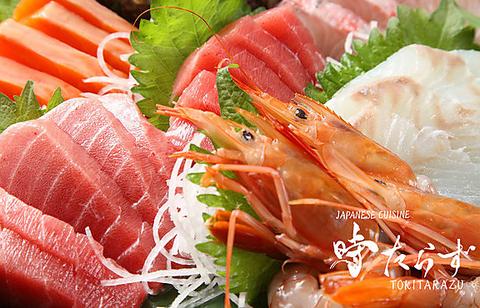 """江戸の魚処""""時たらず""""では産地直送の魚料理を中心とした日本料理を提供しております"""