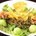 料理メニュー写真アボカド豆腐タコライス