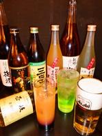 ドリンクはワインを中心に焼酎/日本酒/果実酒など豊富◎