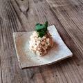 料理メニュー写真サバ味噌ポテサラ