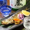 料理メニュー写真【季節の焼物】