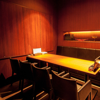 【個室完備】接待に最適のテーブル式個室
