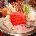 料理メニュー写真かねふく明太ちゃんこ鍋  ※2人前以上からのご注文とさせていただきます。