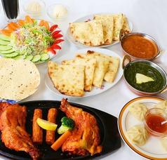 インド料理ニサン 長岡のコース写真
