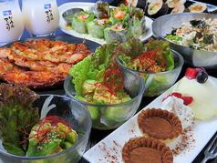 KOREAN食堂 YUPAのコース写真
