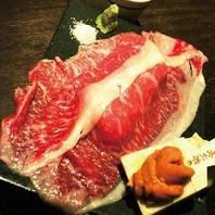 """極上牛の炙り肉寿司""""八氣のこだわりの一品のご紹介"""""""