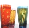 ■江戸切子グラスで味わう乙なビール■『キリンハートランド(生)』や、多摩川水系の地下天然水を贅沢に使った『東京クラフトビール〈東京BLUES〉』などこだわりの飲み物から風情を感じて頂けますとうれしいです♪