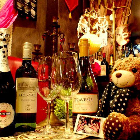 【記念日・誕生日サプライズ】大きい熊のぬいぐるみ付きベアケーキコース☆料理11品 飲放題