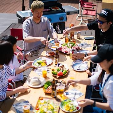 outdoor dining cafe ピーカンBBQのおすすめ料理1