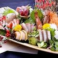 料理メニュー写真名物 大漁七種盛り