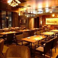 ◆最大90名OK!夜景を眺めるカップルシートや座敷個室も