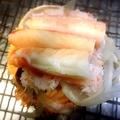 料理メニュー写真濃厚蟹 甲羅焼き