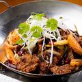 料理メニュー写真牛肉の鍋香り炒め
