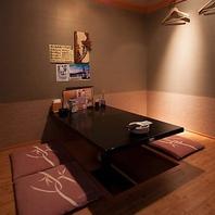 居酒屋うおや一丁川崎店は様々なタイプの個室をご用意!