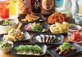 ぶっちぎり酒場は料理にもこだわります!お料理は串焼き・刺身・炙り・飯物など盛りだくさん★