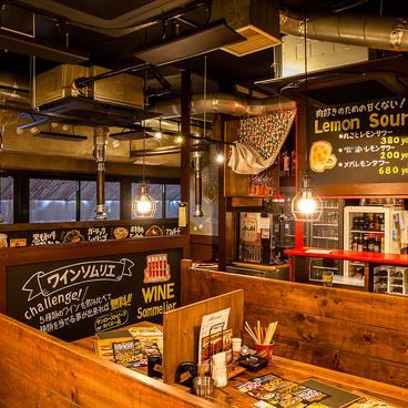 鉄板肉酒場 LOVE&29 福島店の雰囲気1