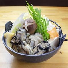 牡蠣すき鍋(1人前)