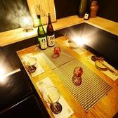 4名様まで使える完全個室。記念日や誕生日にもお使いいただけます。落ち着いたプライベート空間で絶品肉料理をぜひ堪能してください。