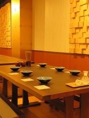 テーブル席【2~7名様】広々!大型テーブル席
