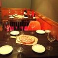 4名席☆テーブルの合体も可能!女子会・デートなどにおすすめ☆