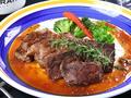 料理メニュー写真〔Bistecca di manzo〕牛サーロインと牛ハラミのビステッカ 牛ステーキの食べ比べ