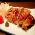 料理メニュー写真伊勢地鶏塩焼き 柚子胡椒添え