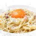 料理メニュー写真パンチェッタのカルボナーラ